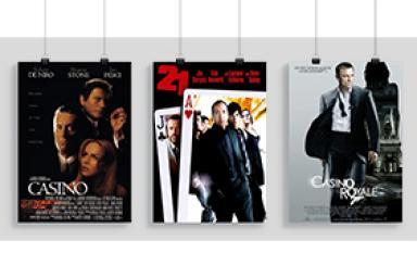 Casinos en el cine: repaso a los mejores títulos de la gran pantalla