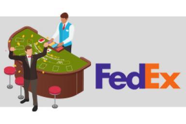 Descubre cómo FedEx no quebró gracias a unas partidas de Blackjack