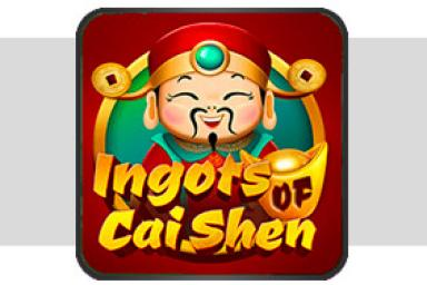 En Ingots of Cai Shen™ de Microgaming podrás jugar con oro