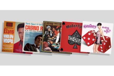 El TOP 15 de canciones sobre las apuestas en el casino