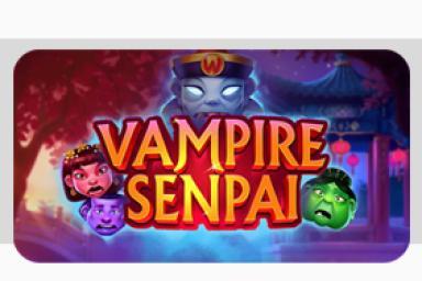Vampire Senpai™ es el lanzamiento de julio por parte de Quickspin