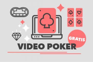 Vídeo póker gratis: dónde jugar por diversión sin costo